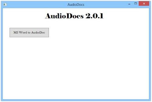 AudioDocs