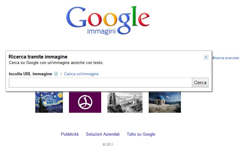 Novit per google immagini ricerca che parte da un for Ricerca per immagini google