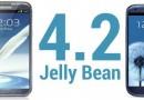 Samsung Galaxy S3 e Note 2: aggiornamento a Jelly Bean 4.2 nel primo trimestre 2013