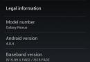 Galaxy Nexus si aggiorna alla versione 4.0.4?