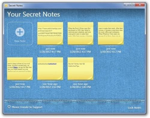 Secret-Notes