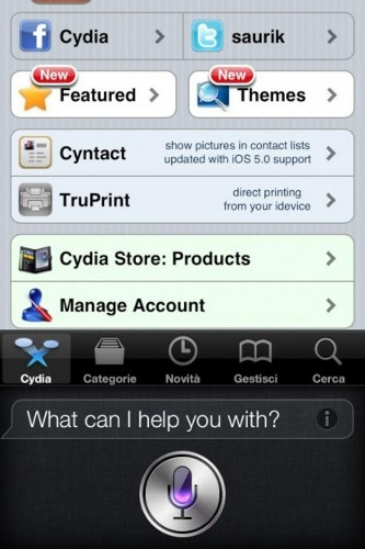 Cydia iPhone