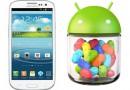 Galaxy S III: disponibile l'aggiornamento ufficiale a Jelly Bean