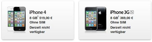 iphone-non-disponibili