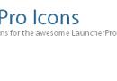 Personalizziamo LauncherPro con nuove icone