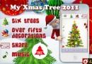 Un albero di Natale sul tuo iPhone con My Xmas Tree 2011