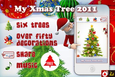 my xmas tree 2011