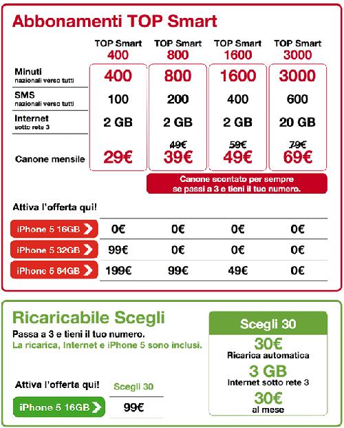 offerta-3italia-iphone5