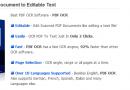 Convertire un documento PDF in testo editabile