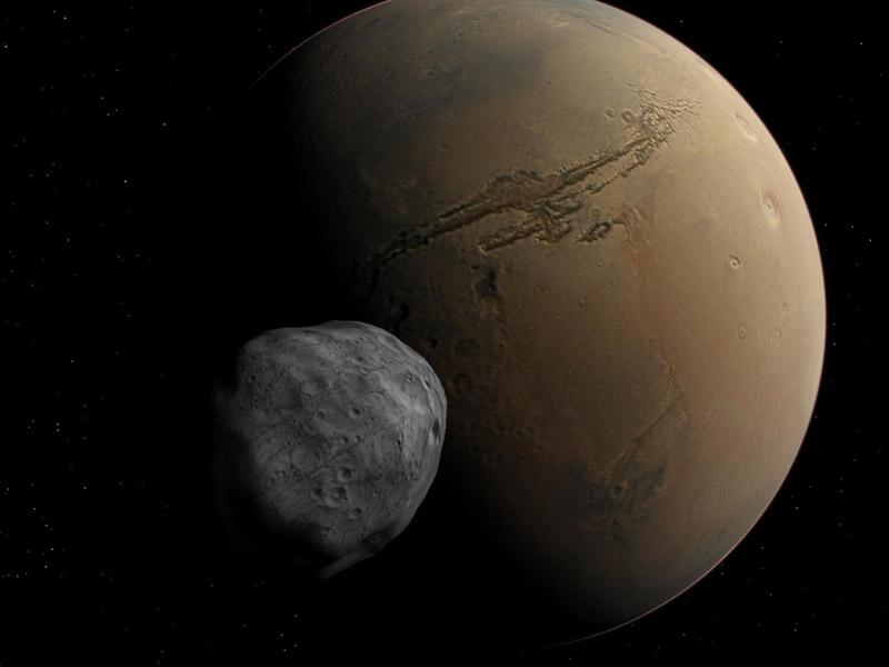 phobos-mars