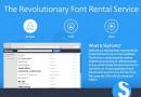 SkyFonts: più di 8 mila fonts da provare gratis e noleggiare