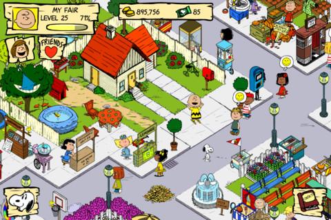 Snoopy's Street Fair: gioco
