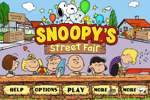 Snoopy's Street Fair: start