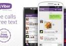 Nuovo aggiornamento per Viber; interfaccia migliorata e diverse novità