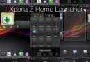 Launcher di Sony Xperia Z disponibile per molti smartphone Android